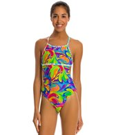 Illusions Activewear Priscilla Psychedelic Monokini One Piece Swimsuit