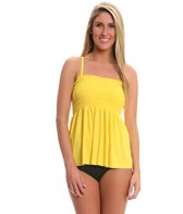 Magicsuit by Miraclesuit Solid Vicki Underwire Bandeaukini Bikini Top