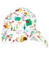 Bummis Camping Critters Flap Sun Cap (Kids)