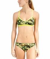 TYR Camo Star Crosscutfit Workout Bikini