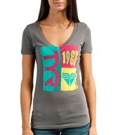 TYR Women's In The Mix V Neck Fitted Tee