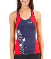 TYR Women's Competitor Print Fitted Tankini