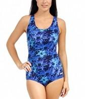 Dolfin AquaShape Conservative Asta Print Lap Suit