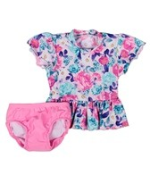 Seafolly Girls' Cottage Garden Baby Sunvest Set (0-3)