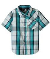 FOX Boys' Denton S/S Woven Shirt (8-20)