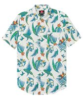 Quiksilver Men's Echo Parrot S/S Shirt