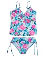 Seafolly Girls Botanical Singlet Bikini Set (6-16)