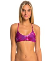 Lo Swim Women's Tie-dye Training Bikini Swimsuit Top