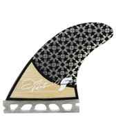 Future Fins Honeycomb Rasta Quad Fin Set