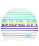 Speedo Dive Bar Silicone Swim Cap