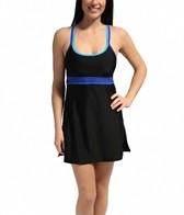 Speedo Double Strap Swim Dress