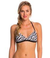 Speedo Geo Tropic Halter Swimsuit Top