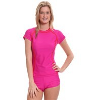 Speedo Female S/S Rashguard