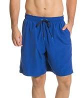 Speedo Men's Nautical Leg Stripe Volley Short