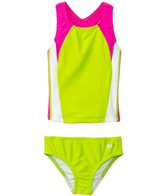Speedo Girls' Infinity Splice Two Piece (4yrs-6yrs)