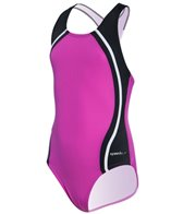 Speedo Girls' Sport Splice One Piece (7-16)