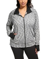 Moving Comfort Foxie Full Zip Plus Size Jacket