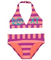 Roxy Girls' Escape 70s Halter Set (7-16)