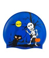 Sporti Trick or Treat Silicone Swim Cap Jr