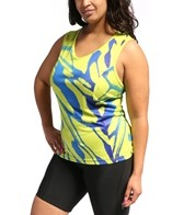 Shebeest Women's Easy V Butterfly S/L Plus Size Cycling Jersey