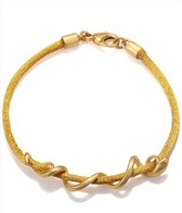 Satya Jewelry Mustard Arm Yourself Bracelet