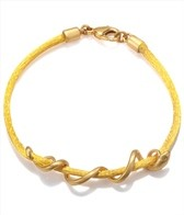 Satya Jewelry Yellow Arm Yourself Bracelet