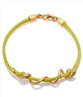 Satya Jewelry Olive Arm Yourself Bracelet