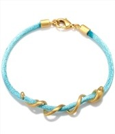 Satya Jewelry Turquoise Arm Yourself Bracelet