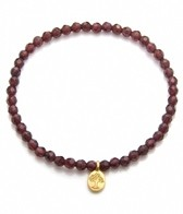Satya Jewelry Garnet Tree of Life Bracelet