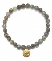 Satya Jewelry Labradorite Lotus Bracelet