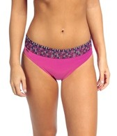 Lole Mojito Lulua Solidate Blue High Waist Bikini Bottom
