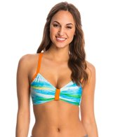 Next Tranquil Waters In Training Sports Bra Bikini Top