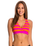 Next Lined Up 29 Min. D Cup Sports Bra Bikini Top