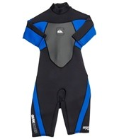 Quiksilver Boys' 2/2MM Syncro Back Zip Spring Suit