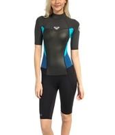 Roxy Women's 2/2MM Syncro S/S Back Zip Spring Suit