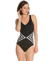 Reebok Strip Tease U Back One Piece