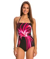 Jantzen Tropical Bliss Party Girl Bandeau One Piece