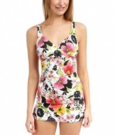Jantzen Splendid Garden Retro Sheath One Piece