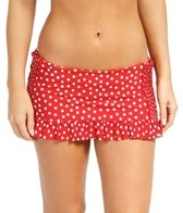 Jantzen Lady Dot Shirred Skirted Bottom