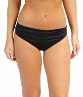 Jantzen Solid Shirred Waisted Bottom