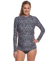 EQ Swimwear Tahitian Black Maternity Rashguard