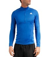 Adidas Men's Terrex Swift Long Sleeve Running 1/2 Zip Tee