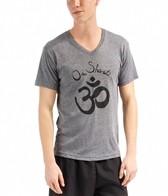 Om Shanti Clothing Men's V Neck Om Shanti Shirt
