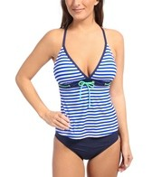 Jag Bel-Air Stripe Take Shape Tankini Top