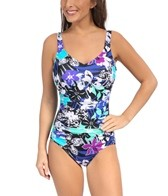 Maxine Sassy Safari Side Shirred Mio One Piece