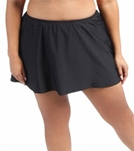 Sunsets Plus Size Solid Skirted Bottom