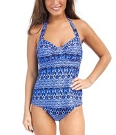 Sunsets Indigo Sweetheart D/DD Cup Tankini Top