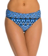 Sunsets Indigo Basic Hipster Bottom