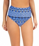 Sunsets Indigo Power Net High Waist Bottom