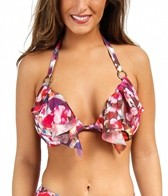 Swim Systems Hothouse Blooms Cup Push Up Triangle Top